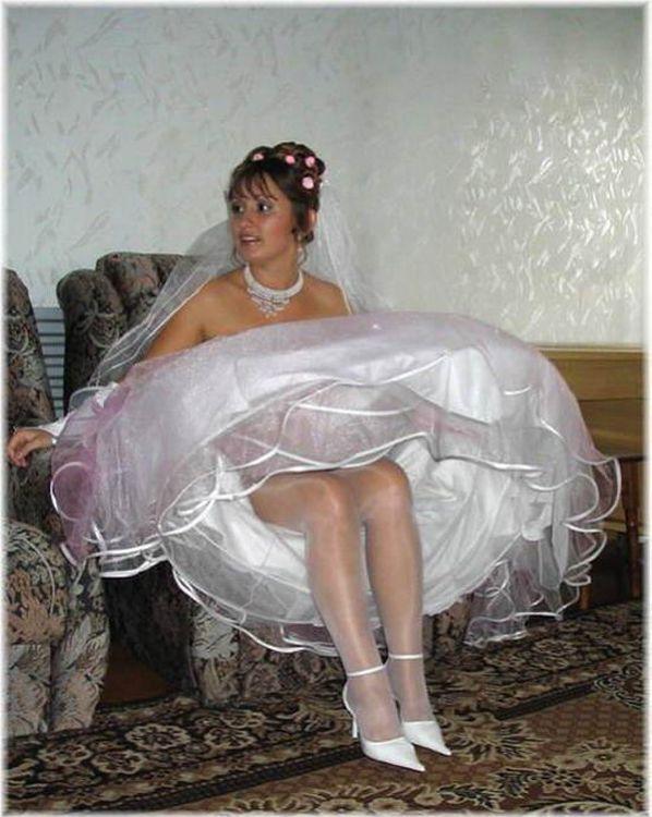 Bride accidental voyeur would