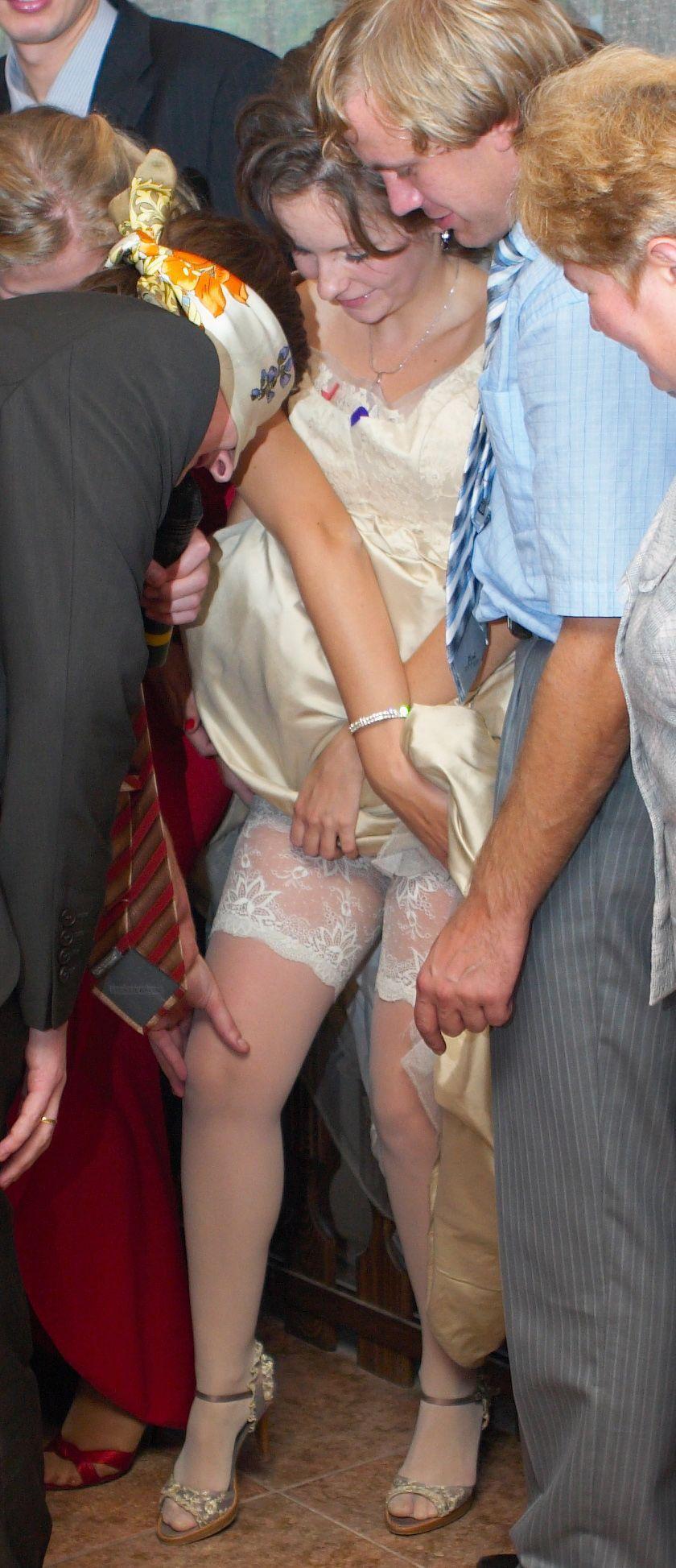 School Skirt No Panties