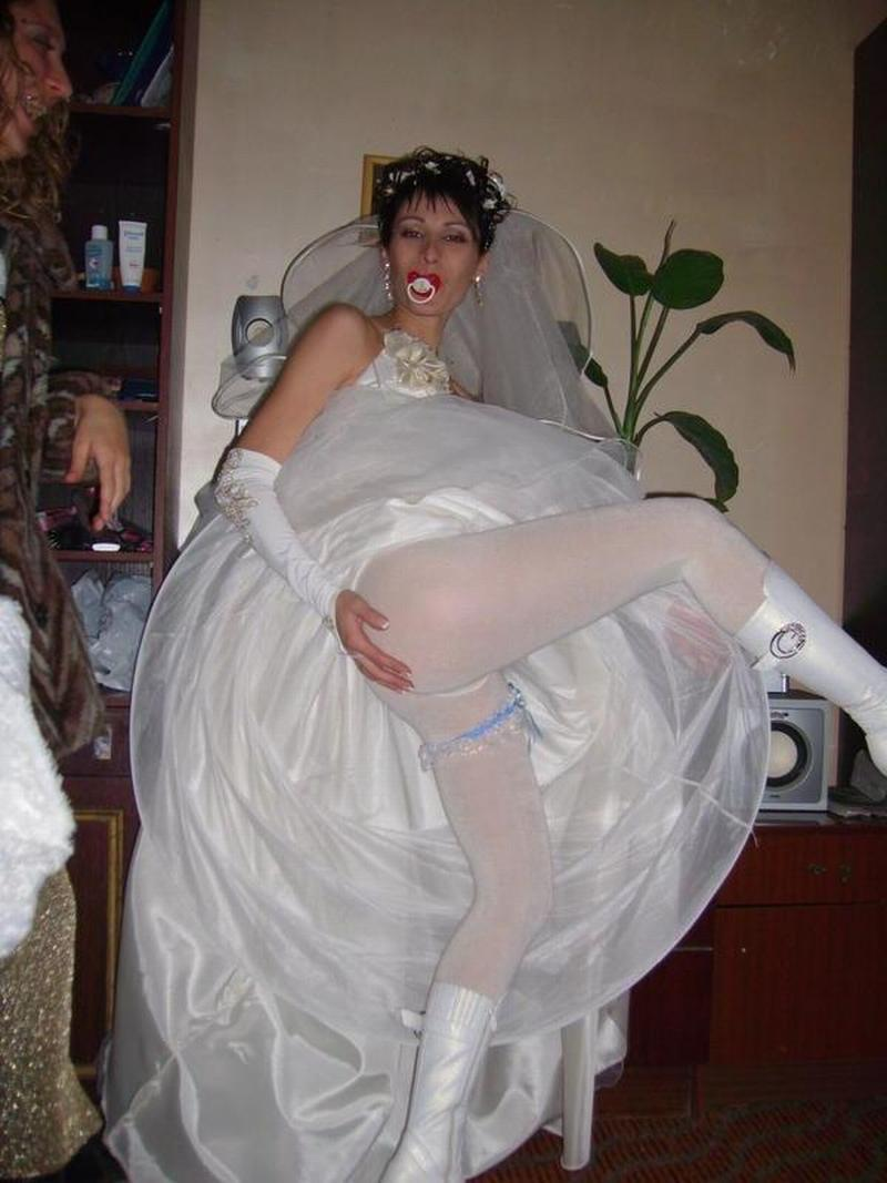 Brides night upskirt wedding