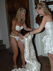8 pictures - wedding upskirt photos